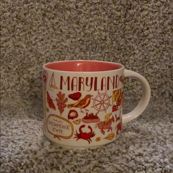 State of Maryland Starbucks Mug